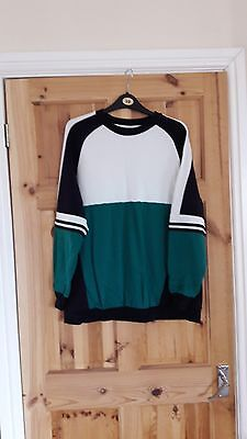 Funky retro style maternity jumper