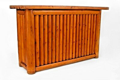 American Old Hickory Style (1950s) Pine Dry Bar