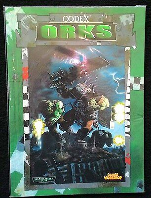 C016 Warhammer 40k Codex Orks (Old 3rd Edition)