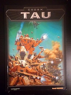 C025 Warhammer 40k Codex Tau (Old 3rd Edition)