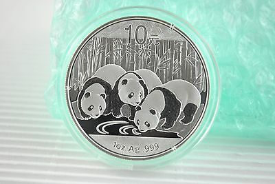 2013  1 oz Silver Chinese Panda Coin *