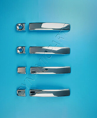 Renault Trafic Chrome Door Handle Cover 4 Doors Stainless Steel 2015 Onwards