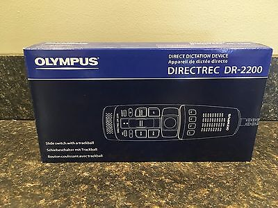 OLYMPUS DIRECTREC DR-2200 Direct Dictation Device NEW