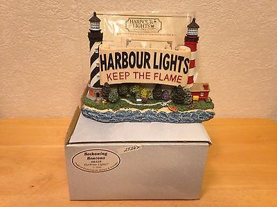 Harbour Lights 2000 Beckoning Beacons HL 628 Keep The Flame S/N 25,262