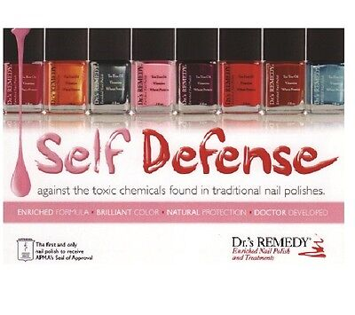 Dr.'s Remedy Enriched Nail Polish Oils Remover All Colours Top Coats