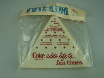 Vintage Coca Cola Kwiz King Puzzle Game