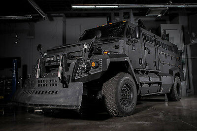 2017 Kenworth Armored Armored Personnel Carrier