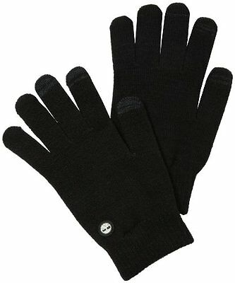 Timberland Lightweight Knit Magic Glove, Touchscreen Tech, NEW, Black Orig $34