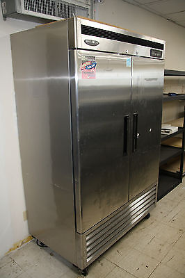 Turbo Air MSR49MN Commercial Reach-In Refrigerator With 2 Solid Doors