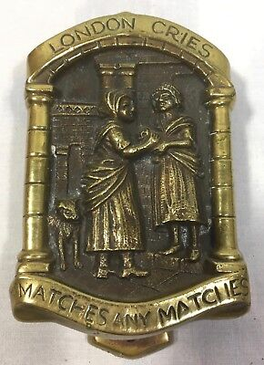 Cries of London VTG Antique Brass Door Knocker - Matches Any Matches