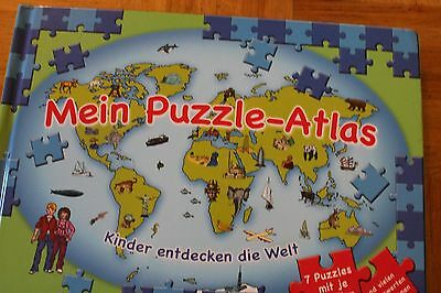 puzzle atlas atlas f r kinder eur 3 50 picclick de. Black Bedroom Furniture Sets. Home Design Ideas