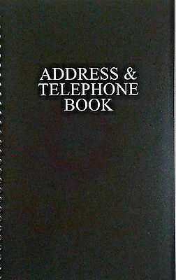 Address & Telephone Book Name,Address,Home,Cell phone,Email,Fax And Office