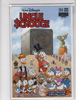 Uncle Scrooge #384 Rare Baltimore Comic Con Variant Boom Kids Don Rosa Cover  Nm
