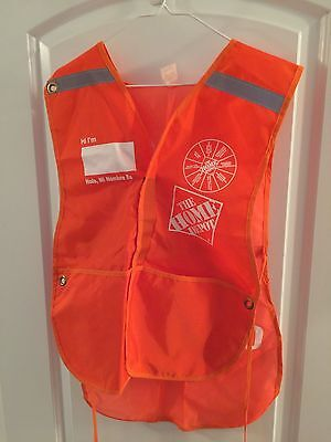 Rare Home Depot Adult PRO LOADER Apron Excellent Condition