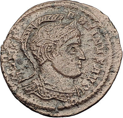 CONSTANTINE I the Great  319AD Authentic Ancient Roman Coin Vexillum i63581