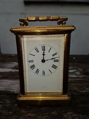 R & Co carriage clock