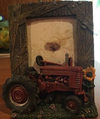 Tractor Picture Frame