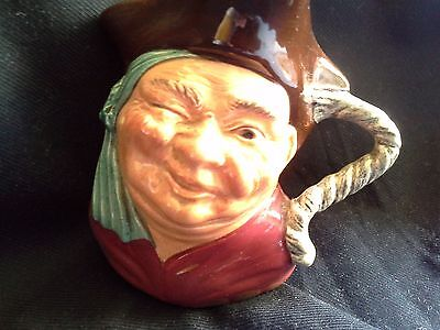 Hand Painted Staffordshire Toby Jug