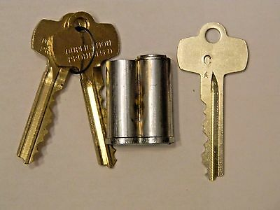 Interchangeable Core By KSP- Fits Best Falcon and Arrow- 7 Pin- Satin Chrome