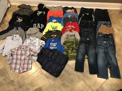 Lot Of Boys Clothes...some Nwt(old Navy/Gap)-size 5t/5