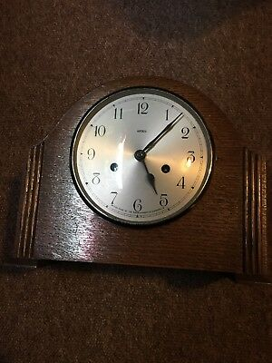 DuPontic Enfield Mantle Clock. Selling For Spares Or Repair