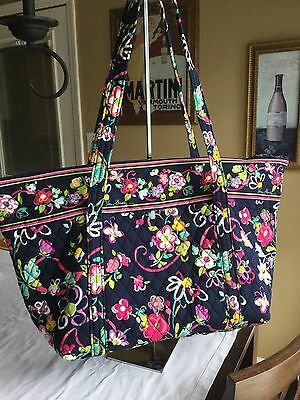 Vera Bradley Overnight Tote In Ribbons