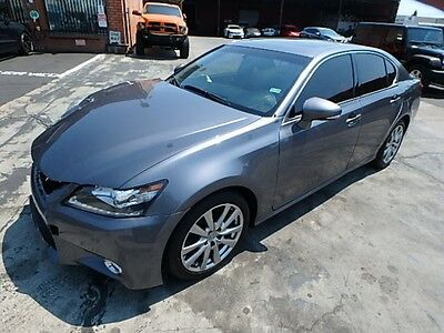2014 Lexus GS 350 2014 Lexus GS350 Sedan Damaged Clean Title Luxurious Sporty Save on Salvage L@@K