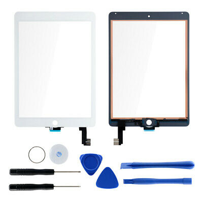 White For iPad air 2 A1566 A1567 A1600 Touch Screen Digitizer Replacement Lens