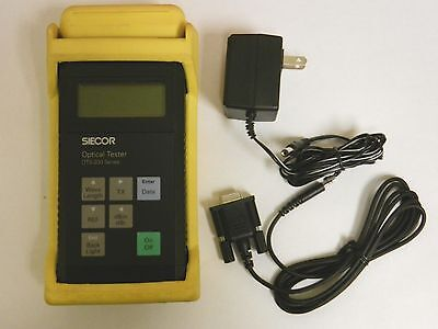 Siecor Corning OTS-222XD-SC MM SM Fiber Optic Power Meter & Source OTS-200 210