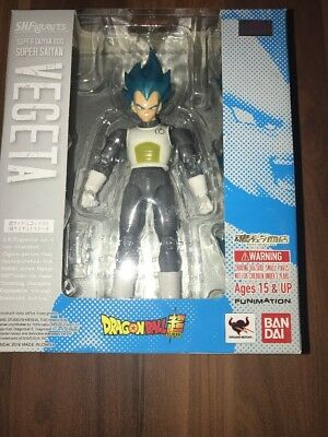 DragonBall Z S.H. Figuarts Super Saiyan God  SSGSS Vegeta figure by Bandai