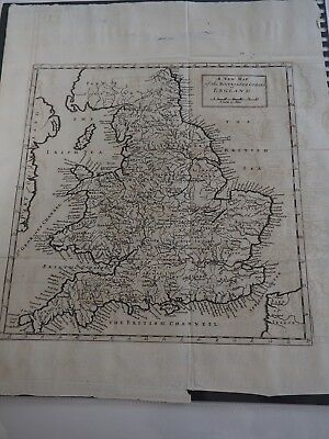 A New Map of the Rivers & Sea Coasts of England