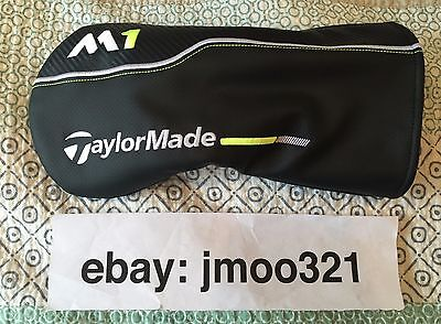 TaylorMade 2017 M1 Driver Head Cover, As New Condition, Golf Headcover