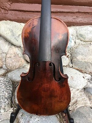 Antique Old Violin Probably American, Smaller Size