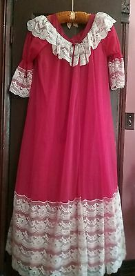 In Time California Vintage Pegnoir Set Gorgeous One Size Fits All