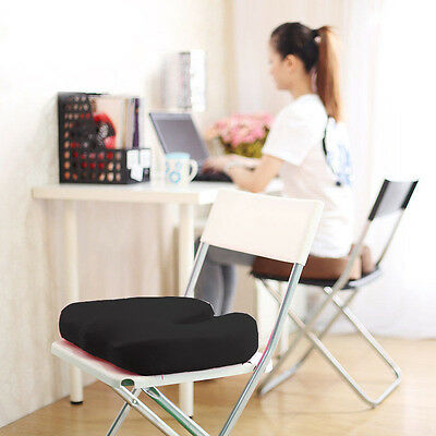NEW Memory Foam SEAT CUSHION Base Posture Support Backache Car/Home/Office/Trave