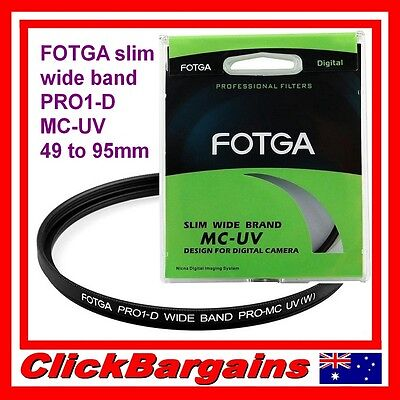 FOTGA SLIM UV MC-UV Multicoated professional filter PRO1-D camera lens protector