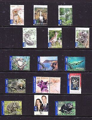 Australian stamps - International Post - 15 CTO & Used