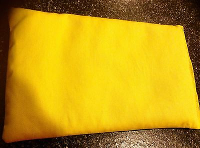 CANERY YELLOW Microwave HEAT Or & COLD Wheat Heat Pack 100% Cotton