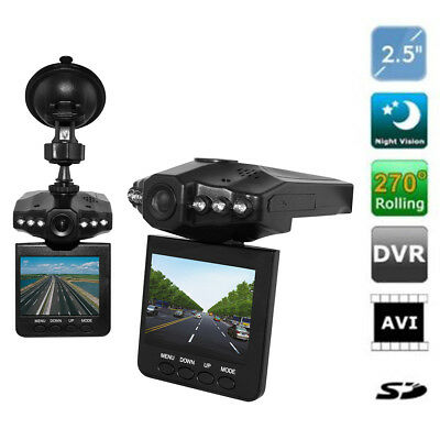 "2.5"" HD Car Vehicle Dash Dashboard Camera IR DVR Cam CCTV Night Vision SmartCam"