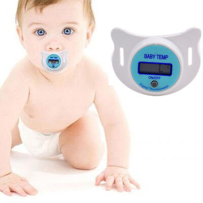 New Practical Baby LCD Digital Mouth Nipple Pacifier Thermometer Temperature