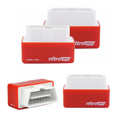 Nitro OBD2 Performance Chip Tuning Box Plug and Drive For Diesel Cars 2017