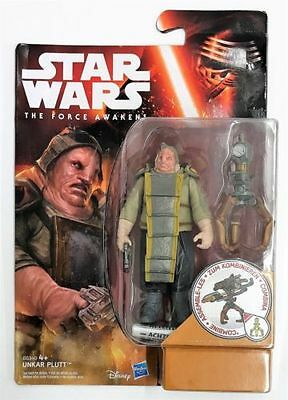 Star Wars (The Force Awakens Unkar Plutt - 3.75 Inch Action Figure + Free Post)