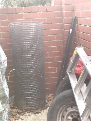 Weld Fence Wire/Dog Mesh roll Steel Metal Cage