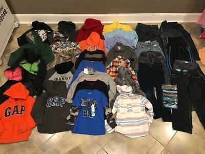 Huge Lot Of Boys Clothes-size 6