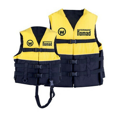 Yellow Watersnake Nomad Adult or Child Life Jacket - Level 50 PFD