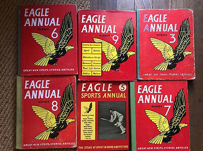 Eagle Annuals Lot 1950