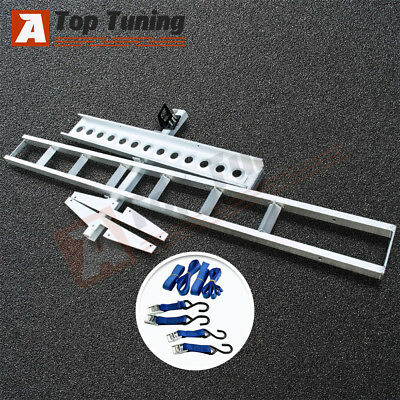 Motorcycle Carrier Rack and Ramp Motorbike Dirt Bike Tow bar Free Freight CAC