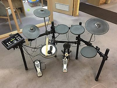 Yamaha Dtx Electric Drum Kit Drums 500 Electronic Sample Pad