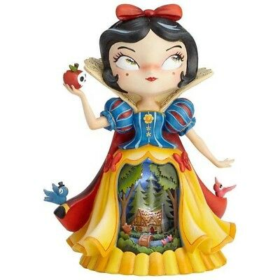 Disney The World of Miss Mindy Light up Figurine collectible Snow White
