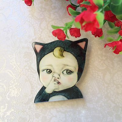 Cute Baby  Brooch Pin/Lapel/ Coat /Backpack/Jewelry Badge Retro